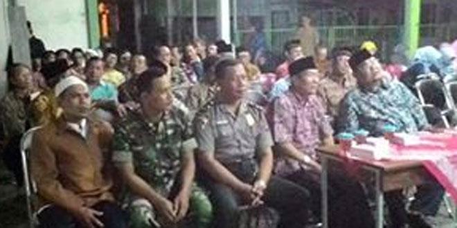 Babinsa Koramil 10/Wirobrajan Ikuti Acara Syawalan dan Halal Bi Halal di Gor Kelurahan Wirobrajan Yogyakarta