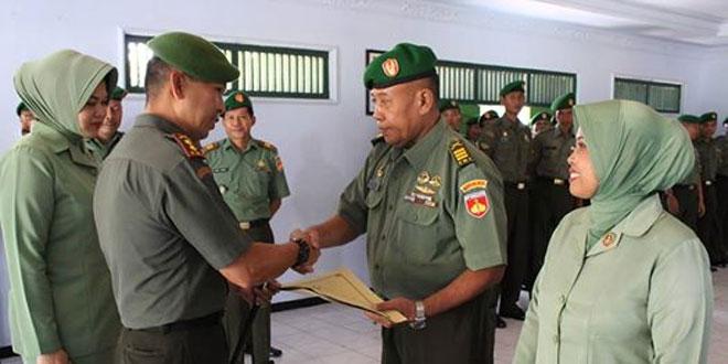 Upacara Wisuda Purnawira dan Purna Tugas Danramil 01/Pemalang