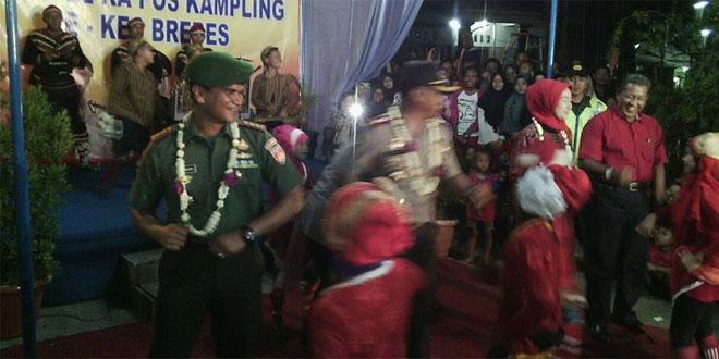 Dandim 0713/Brebes Hadiri Silaturahmi FKPD Dan Apel Ka Pos Kampling Se Kabupaten Brebes