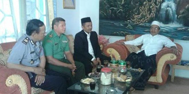 Bati Tuud Koramil 06/Kesugihan Hadiri Rakor Pemberangkatan Calon Jama'ah Haji