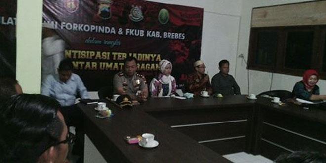 Silaturahmi Forkompimda dan FKUB Kabupaten Brebes