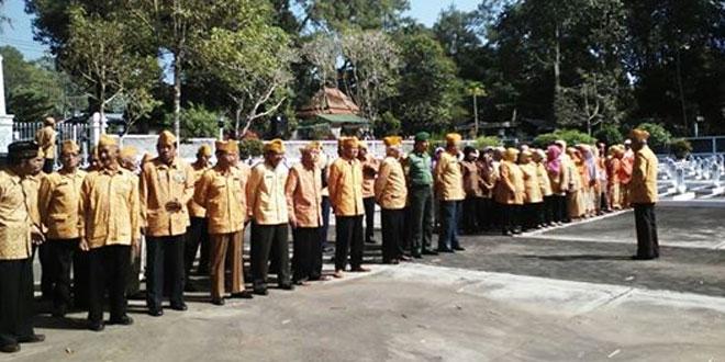 Bati Wanwil Koramil 01/Tmg Menghadiri HUT Veteran Ke 67