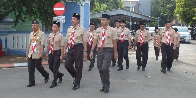 Dandim 0720/Rembang Hadiri Peringatan Hari Pramuka Ke 55