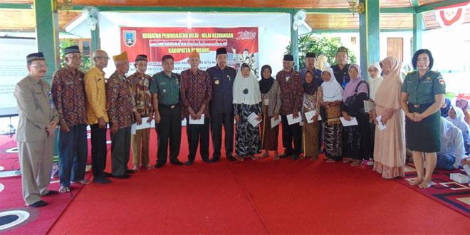 Kasdim 0720/Rembang hadiri acara Peningkatan Nilai-Nilai Kejuangan 1945