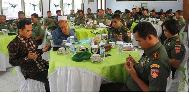 Kodim 0720/Rembang Menerima Kunjungan Dari Komisi 1 Bidang Pertahanan, Luar Negeri, Intelejen, Komunikasi dan Informatika