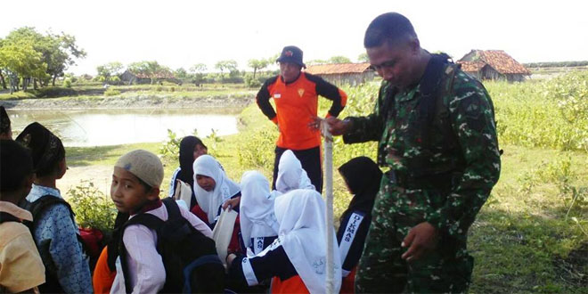 Koramil 03/Sulang BPBD Adakan Pelatihan Penanganan Darurat Bencana Pada Pelajar