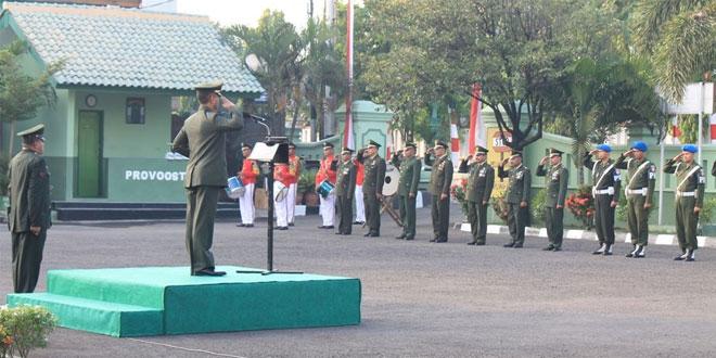 Korem 072/Pamungkas Gelar Upacara Peringatan ke-71 Hari Ulang Kemerdekaan Republik Indonesia