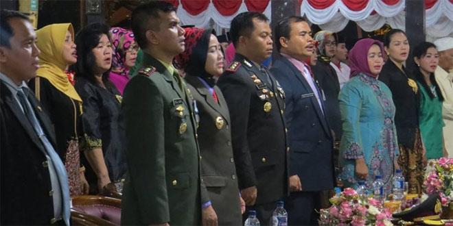 RESEPSI PERINGATAN HUT RI KE-71 TINGKAT KABUPATEN BREBES TAHUN 2016