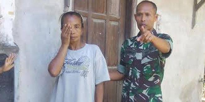 BABINSA TAUNAN KORAMIL 07/UMBULHARJO MEMBANTU MENSUKSESKAN PROGRAM OPERASI KATARAK.