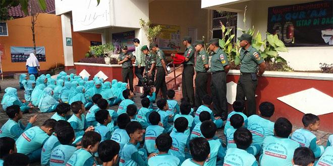 Anggota Kodim 0701/Banyumas Megisi Giat Dicipline Day