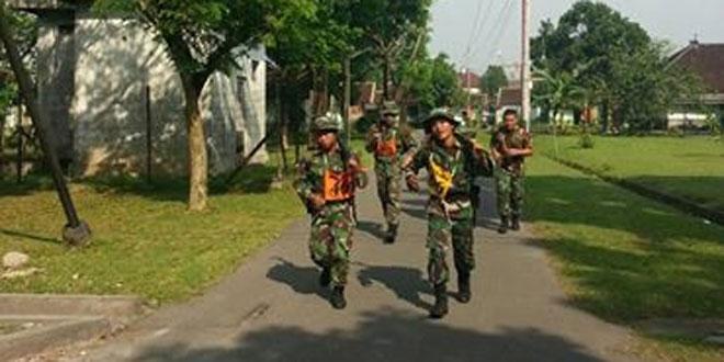 Prajurit Yonif 403/WP Melaksanakan USJM Tingkat Peleton