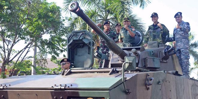 Pameran Alutsista TNI Ramaikan Jateng Fair