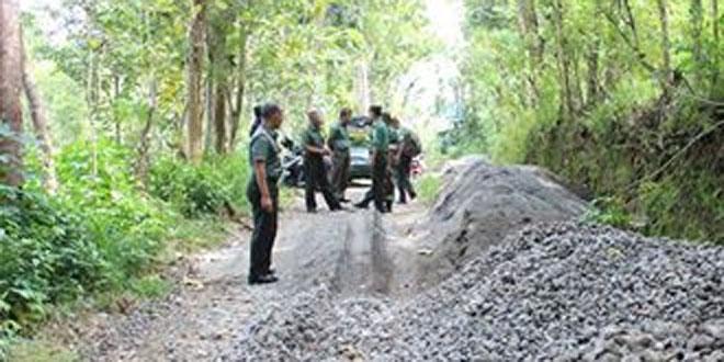 Dandim 0731/Kulonprogo Melaksanakan Peninjauan Lokasi TMMD Reguler di Kalibawang