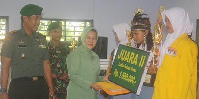 Dandim 0720/Rembang Buka Paduan Suara Pelajar Kab. Rembang