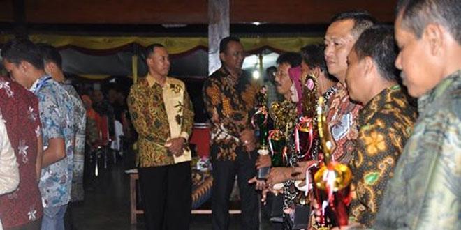 Dandim 0704/Banjarnegara Menghadiri Resepsi Hari Jadi Kabupaten Banjarnegara yang Ke 185