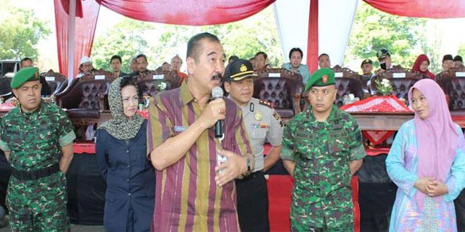 Dandim 0714/Salatiga Menghadiri Kegiatan Simulasi Pengamanan Pilkada Kota Salatiga