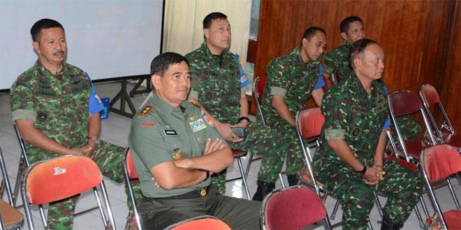 Pangdam IV/Diponegoro Tinjau Latihan Posko 1 Korem 072/Pmk