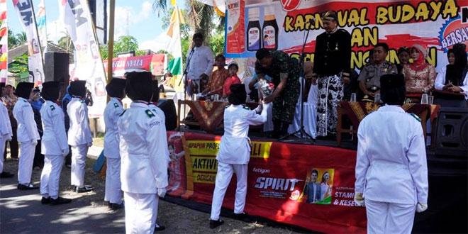 Karnaval Dalam Rangka HUT-RI ke 71 di Kecamatan Ngluwar