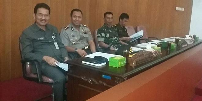 Pabung Kodim 0714/Salatiga Menghadiri Rapat Paripurna DPRD Kabupaten Semarang