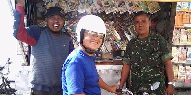 Koramil 05/Pakualaman Sambangi Kampung Purwanggan