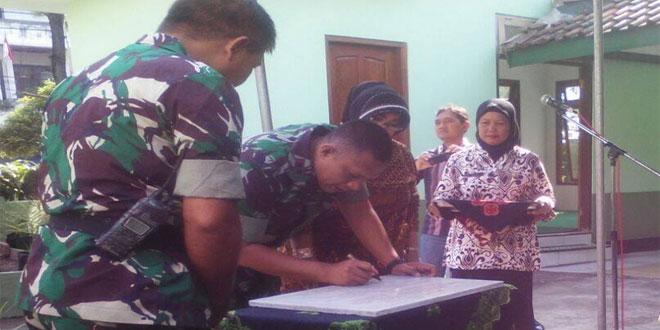 Dandim 0734/Yogyakarta Resmikan Mushola di Makoramil 02/Tegalrejo