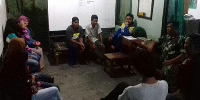 Babinsa Patangpuluhan Koramil 10/Wirobrajan Beri Arahan dan Menampung Aspirasi Remaja di Wilayahnya