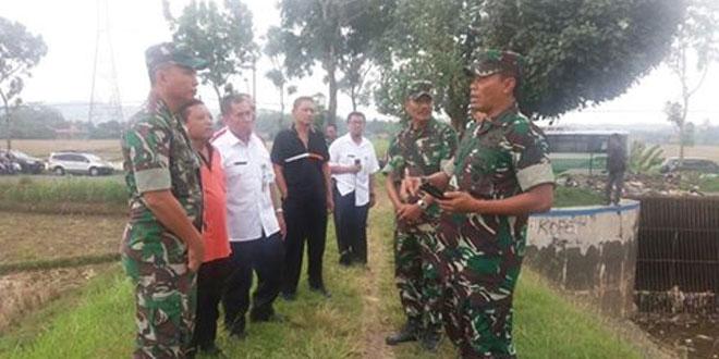 Danrem 071/Wijayakusuma Meninjau Irigasi di Kec. Sampang Cilacap