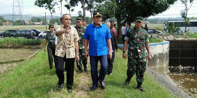 Dirjen PSP Kementan RI Kunjungi Wilayah Korem 071/WK Dalam Rangka Swasembada Pangan