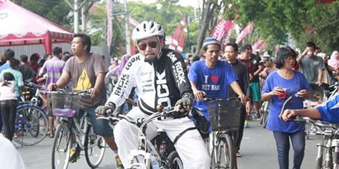 Kodim 0717/Purwodadi Mengadakan Sepeda Santai