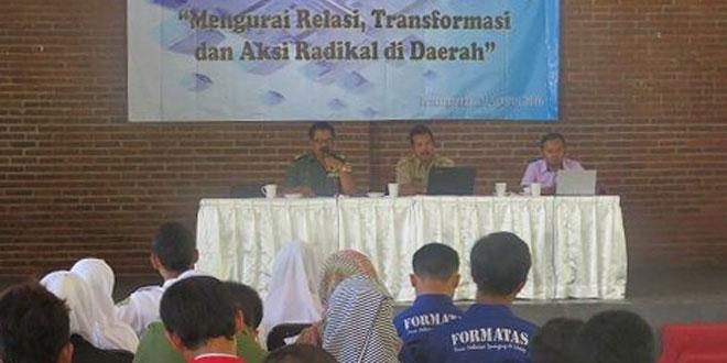 Seminar Pemuda Mengurai Relasi Transformasi dan Radikalisme
