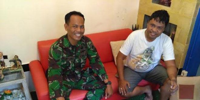 Silaturahmi Babinsa Ngupasan Ke Rumah Ketua Tagana Kota Yogyakarta