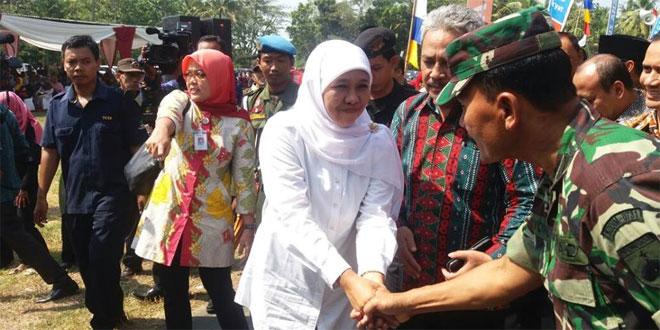 Kunjungan Menteri Sosial RI di Wilayah Kodim 0731/Kulonprogo