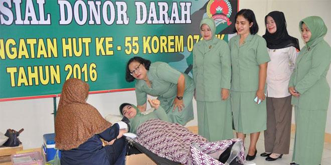 Kodim 0704/Bna Bhakti Sosial Donor Darah