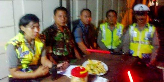 Satgas Pamtas Yonif 407/PK Patroli Patok Batas RI-PNG bersama BPPD Merauke