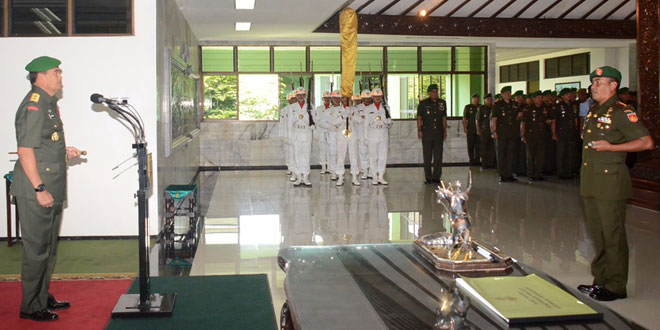 Pangdam IV : Kesadaran Hukum di Kalangan Anggota TNI Harus Terus Diwujudkan