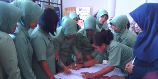 Persit Kodim Surakarta Sosialisasi Pengawasan Perlindungan Konsumen Metrologi Legal