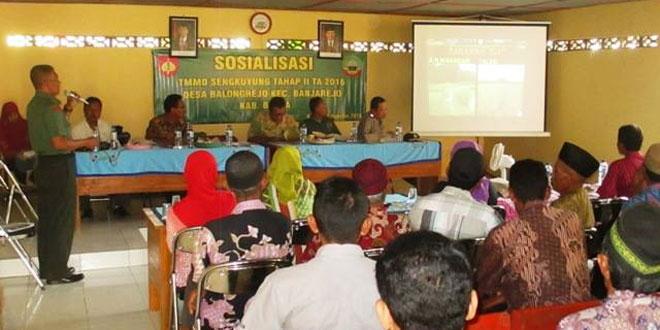 Sosialisasi TMMD Sengkuyung Tahap II, Digelar Kodim 0721/Blora