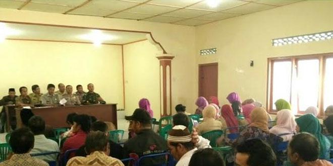 Babinsa Koramil 12/Bulu Melaksanakan Pembinaan Administrasi Desa