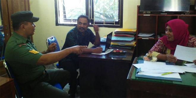 Babinsa Merdikorejo Silahturohmi Dengan Tokoh Masyarakat Dusun Donojayan