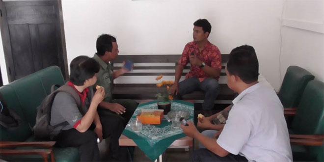 Pasi Intel Kodim 0734/Yka Silahtuhrami Dengan Wartawan di Wilayah Yogyakarta