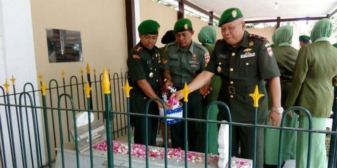 Dandim 0732/Sleman Jadi Irup Upacara Tabur Bunga di TMP