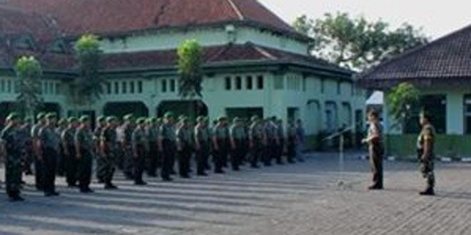 Dandim 0734/Yogyakarta Pimpin Apel Pagi di Makodim