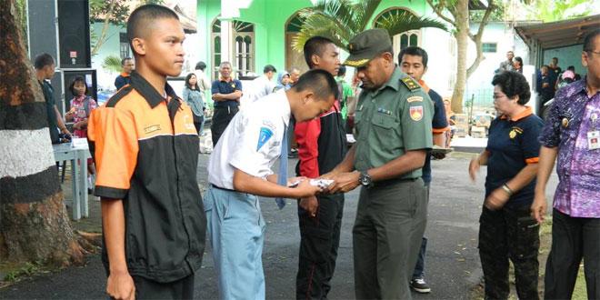 Kasdim 0714/Salatiga Menghadiri Kegiatan Bhakti Sosial Di Kecamatan Tingkir Kota Salatiga