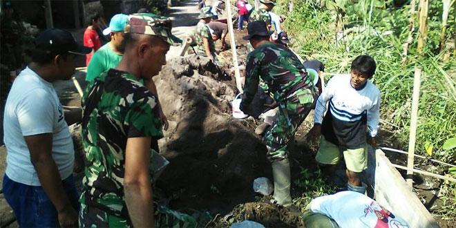 KARYA BAKTI WUJUDKAN KEMANUNGGALAN TNI DAN RAKYAT