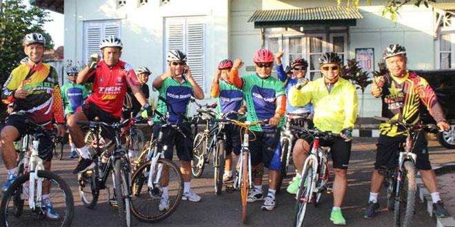 Dandim 0714/Salatiga Melaksanakan Kegiatan Sepeda Sehat