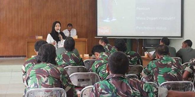 Kodim 0731/Kulonprogo Menerima Sosialisasi PT. Bank Tabungan Pensiunan Nasional Cabang Wates