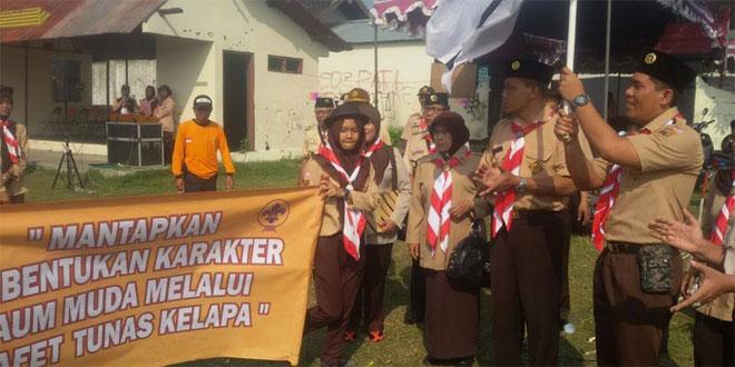 Dandim Klaten melepas Estafet Tunas Kelapa di Pedan