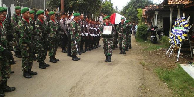 Kodim 0710/Pekalongan Upacara Pemakaman Militer