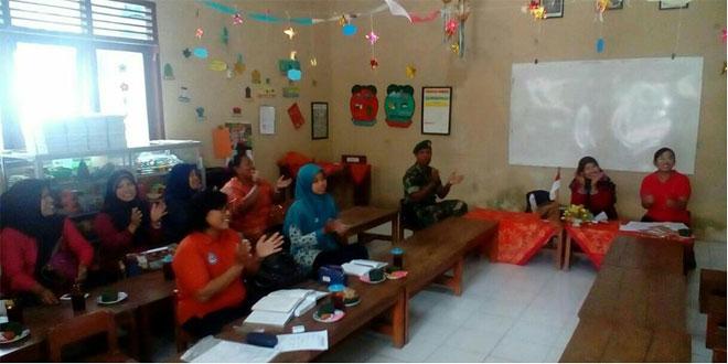 Babinsa Kal. Serengan Koramil 03/Serengan Kodim 0735/Surakarta Menghadiri Rapat Koordinasi
