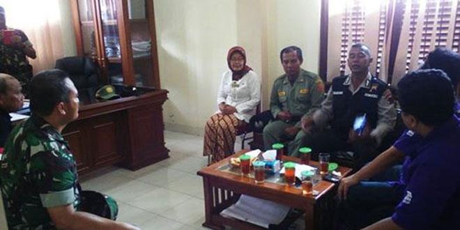 Peningkatan Sinergitas TNI dan Polri oleh Danramil 02 Kodim 0735/Ska